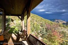Art House Basalt, looking towards Aspen